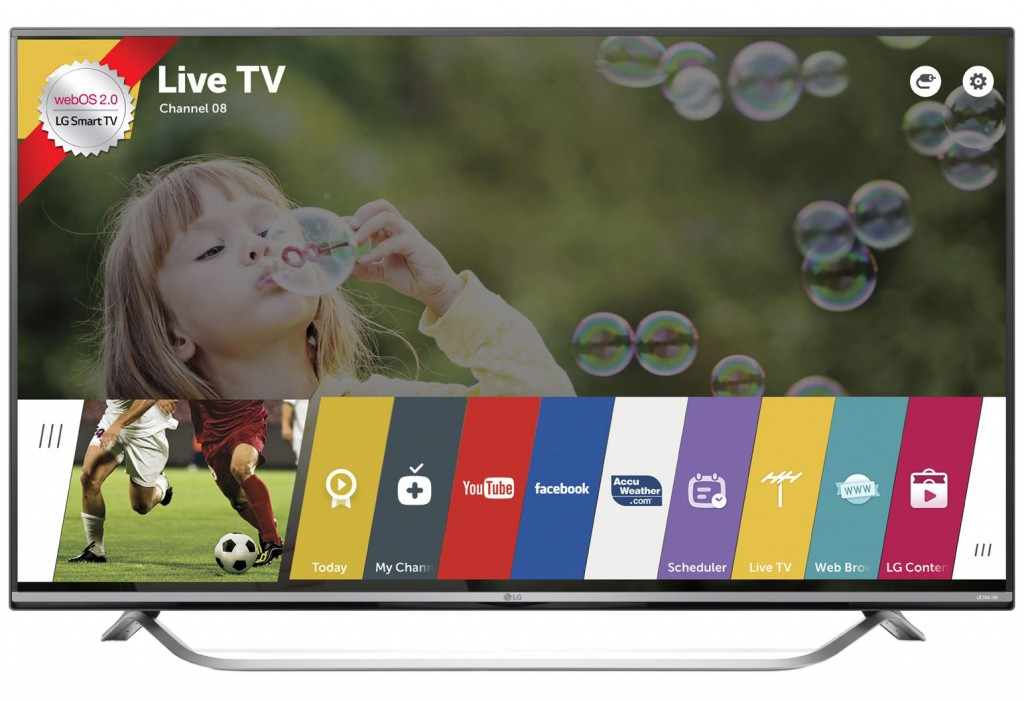 "Телевизор Smart LED LG 43UF7787, 43"" (109 см), Ultra HD"