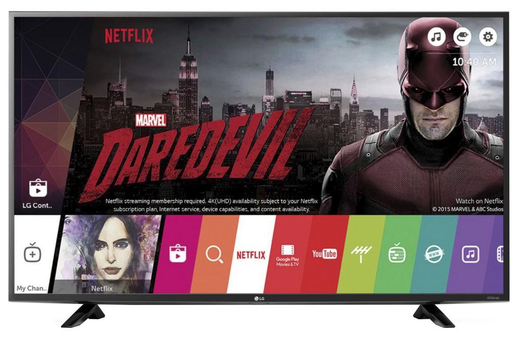 """Телевизор Smart LED LG 49UF640V, 49"""" (123 см), 4K Ultra HD"""