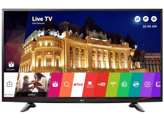 "Телевизор LED Smart LG, 43UH603V, 43"" (108 см), 4K Ultra HD"