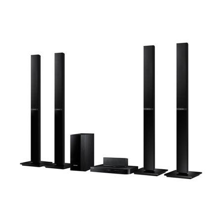Система за домашно кино 5.1 с Blu-ray Samsung HT-J5150, Черна