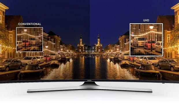 Телевизор LED Smart Samsung, 55`` (138 cм), Извит, 55MU6202, 4K Ultra HD