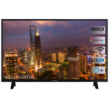"Телевизор LED Smart Wellington, 49"" (124 см), WL49FHD282SW, Full HD"