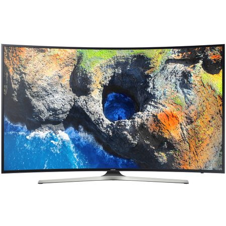 "Телевизор LED Smart Samsung, Извит, 65"" (163 cм), 65MU6202, 4K Ultra HD"