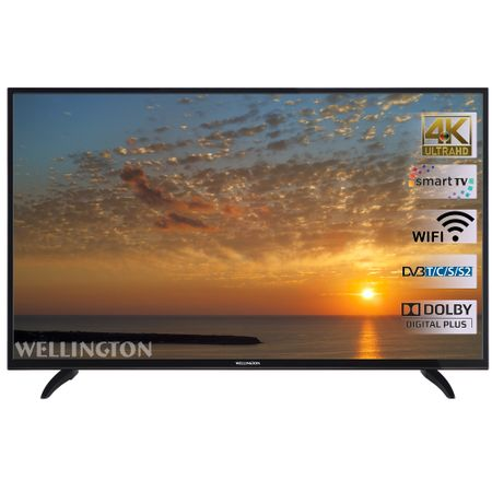 "Телевизор LED Smart Wellington 55UHDV296SW, 55"" (140 см), 4K Ultra HD"