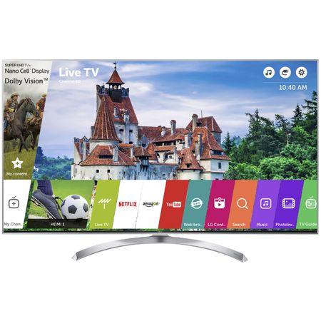 """Телевизор Super UHD Smart LG, 60"""" (151 см), 60SJ810V, 4K Ultra HD"""