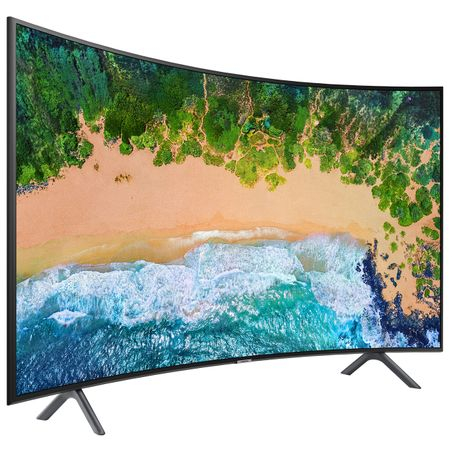 "Телевизор LED Smart Samsung, Извит, 49"" (123 см), 49NU7302, 4K Ultra HD"