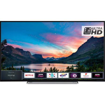 """Телевизор LED Smart Toshiba, 55"""" (140 см), 55V6863DG, 4K Ultra HD"""