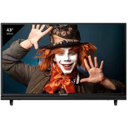 "Телевизор LED Allview, 43"" (109 см), 43ATC5000, 4K Ultra HD"