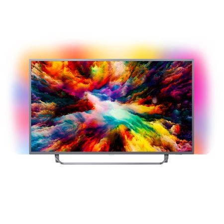 "Телевизор LED Smart Android Philips, 55"" (139 см), 55PUS7303/12, 4K Ultra HD"