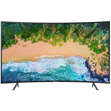 """Телевизор LED Smart Samsung, Извит, 55"""" (138 см), 55NU7302, 4K Ultra HD"""