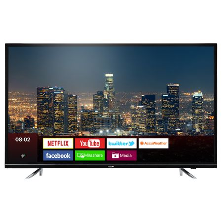 """Телевизор LED Smart UTOK, 50"""" (125 см), U50UHD1, 4K Ultra HD"""