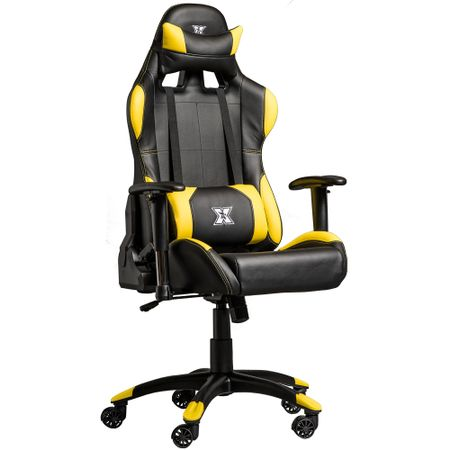 Стол Gaming Serioux Torin, Black/Yellow