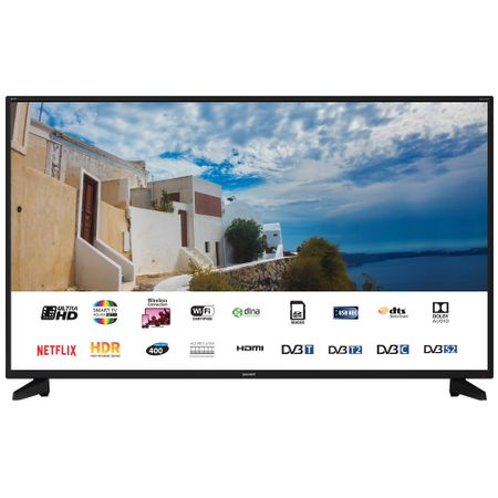 "Телевизор LED Smart Sharp, 50"" (127 см), 50UI7222E, 4K Ultra HD"