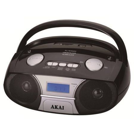 Преносимо радио AKAI APRC-106, 3W, Черно