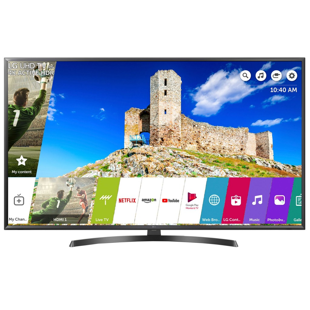 "Телевизор LED Smart LG, 43"" (108 см), 43UK6470PLC, 4K Ultra HD"