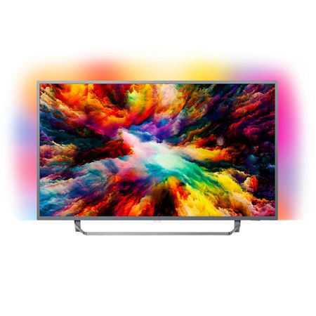 "Телевизор Smart Android Philips, 43"" (108 см), 43PUS7303/12, 4K Ultra HD"