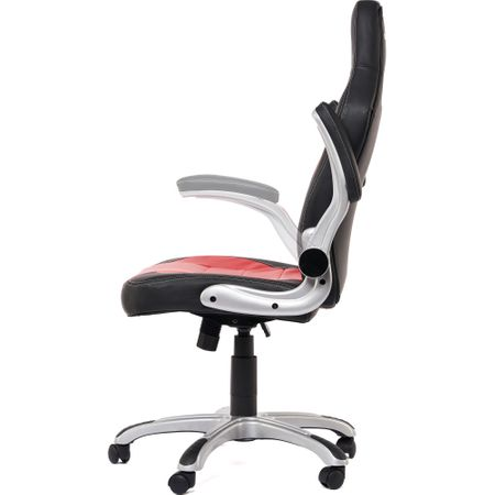 Стол gaming Serioux Ares, Черен/Червен