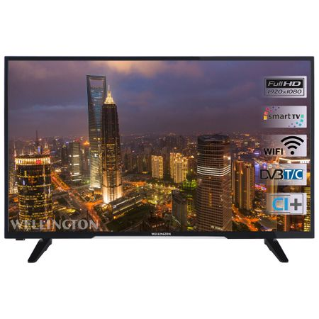 "Телевизор LED Smart Wellington, 40"" (101 см), 40FHD279S, Wi-Fi, Full HD"