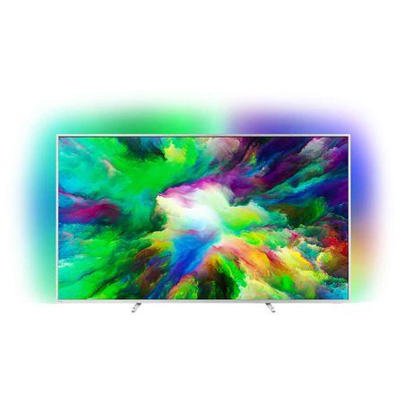 "Телевизор LED Android Smart Philips, 75"" (189 см), 75PUS7803/12, 4K Ultra HD"