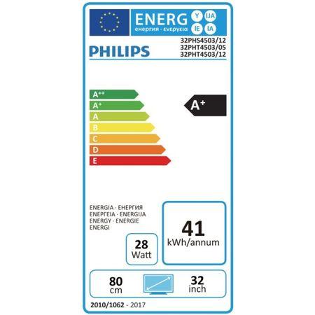 "Телевизор LED Philips, 32"" (80 см), 32PHS4503/12, HD"