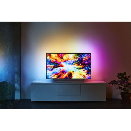 "Телевизор LED Smart Android Philips, 50"" (126 cм), 50PUS7303/12, 4K Ultra HD"