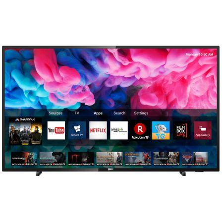 """Телевизор LED Smart Philips, 50"""" (126 см), 50PUS6503/12, 4K Ultra HD"""