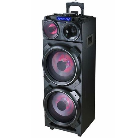 Аудио система Akai DJ-3210, Bluetooth, DJ effects, Party light, Черна