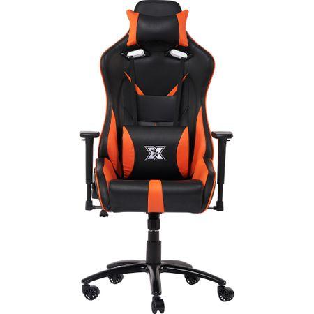 Стол gaming Serioux Kessian, Черен/Оранжев
