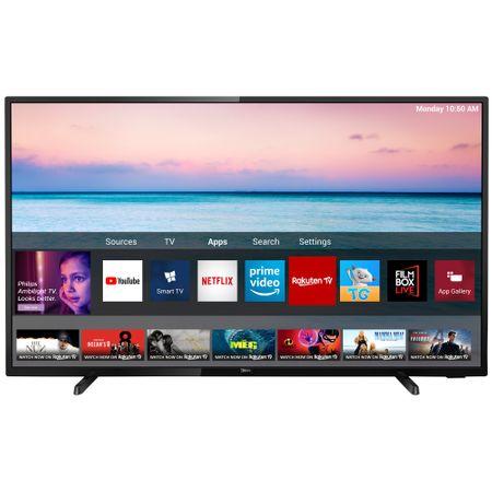 """Телевизор LED Smart Philips, 43"""" (108 см), 43PUS6504/12, 4K Ultra HD"""