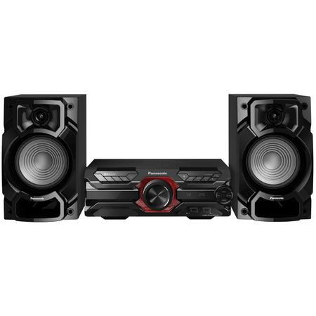Аудио система High Power Panasonic SC-AKX320E-K, 450 W RMS, Dual USB, Bluetooth, Max Juke App., Subwoofer 16 см