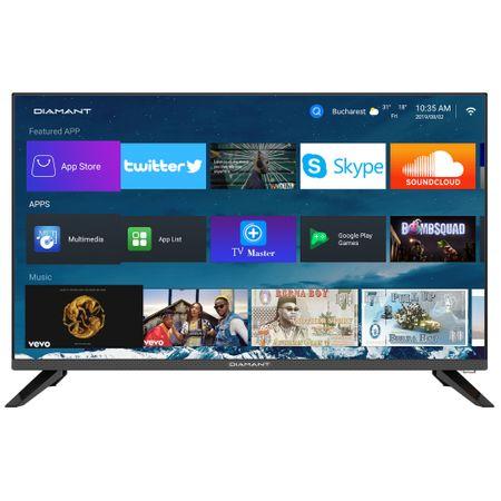 "Телевизор LED Smart Android Diamant, 32"" (80 см), 32HL4330H/A, HD"