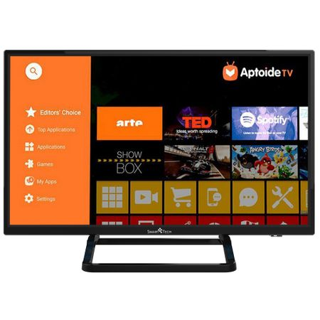 "Телевизор Smart Android LED Smart Tech, 24"" (61 см), 24P28SA41, HD"