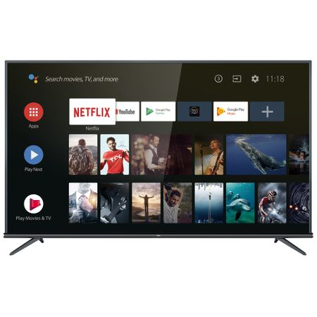 "Телевизор LED Smart Android TCL, 50"" (127 см), 50EP660, 4K Ultra HD"