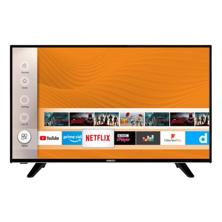 "Телевизор LED Smart HORIZON, 43"" (108 см), 43HL7590U, 4K Ultra HD"