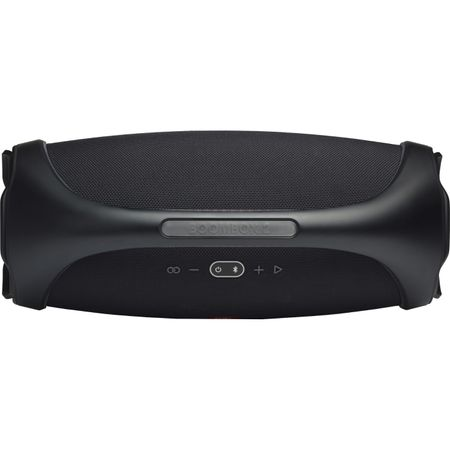 Преносима тонколона JBL Boombox 2, Bluetooth, 360 градусов звук, 24H възпроизвеждане, IPX7 водоустойчивост, Partyboost, Powerbank, Черен