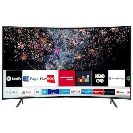 "Телевизор LED Smart Samsung, 49"" (123 см), Извит, 49RU7372, 4K Ultra HD"