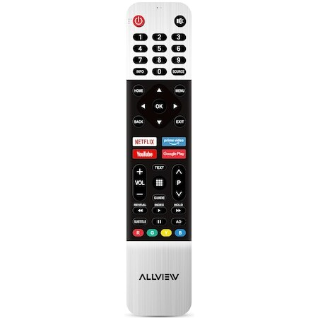 "Телевизор Allview 32ePlay6100-H, 32"" (81 см), Smart Android, HD, LED, Клас А"